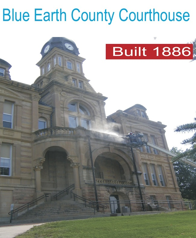 Blue Earth County Courthouse Built 1886