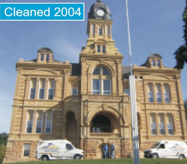 Blue Earth County Courthouse Cleaned 2004