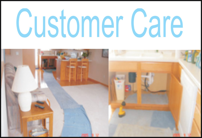 Customer Care Jetter Clean