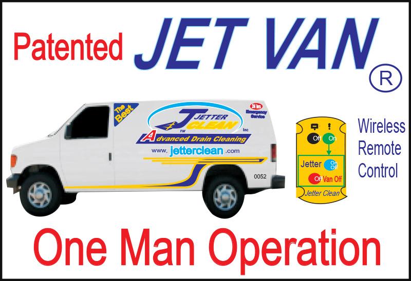 Jet Van Jetter Clean