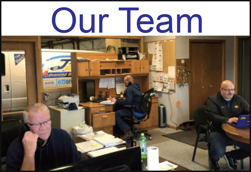 Our Team Jetter Clean